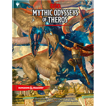 Dungeons & Dragons - 5TH Edition - Mythic Odysseys of Theros