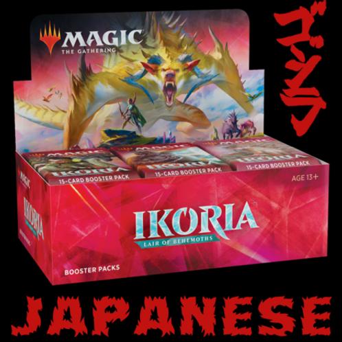 MTG Ikoria: Lair of Behemoths Booster Box - Japanese