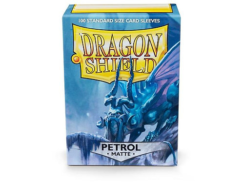 Dragon Shield Matte Petrol 100ct
