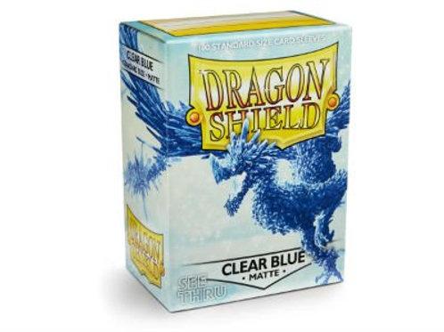 Dragon Shield Matte Clear Blue 100ct