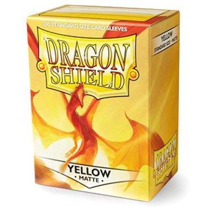 Dragon Shield Matte Yellow 100ct