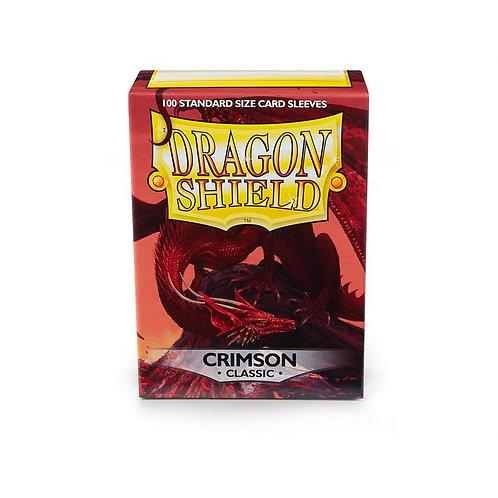 Dragon Shield Classic Crimson 100ct