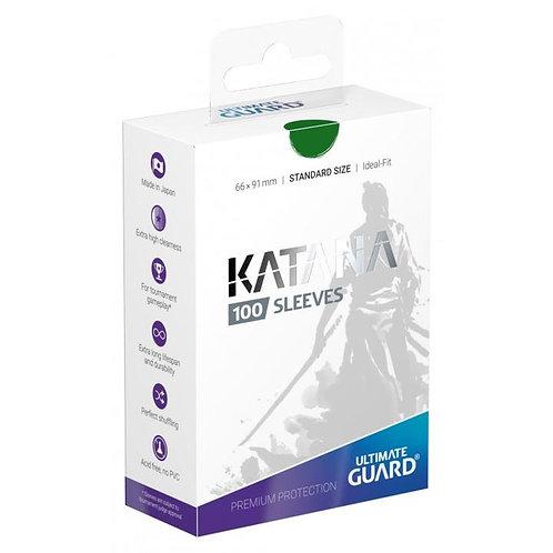 Ultimate Guard - Katan Sleeves - 100ct Green
