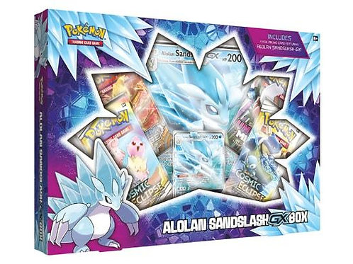 Pokemon - Alolan Sandslash GX Box