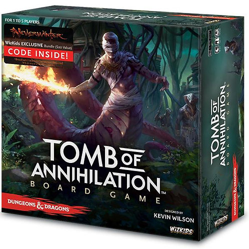 D&D Tomb of Annihilation Board Game