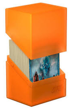 Ultimate Guard Boulder 100+ Poppy Topaz (Orange)