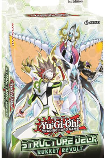 Yu-Gi-Oh! Rokket Revolt Structure Deck