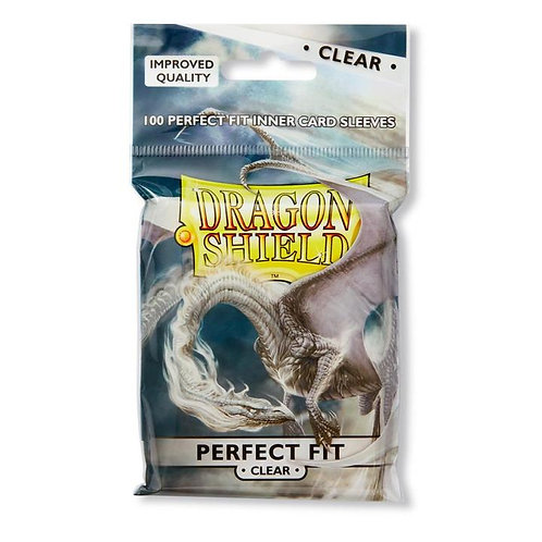 Dragon Shield Perfect Fit Clear - Standard Size 100ct