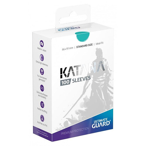 Ultimate Guard - Katana Sleeves - 100ct Turquoise