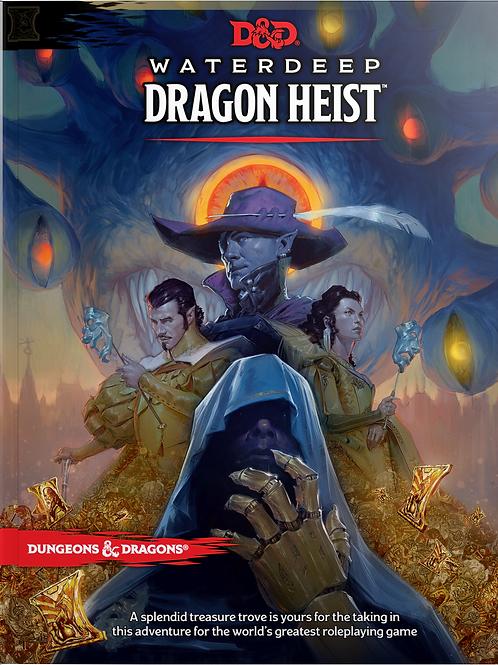 D&D Waterdeep Dragon Heist Hardcover