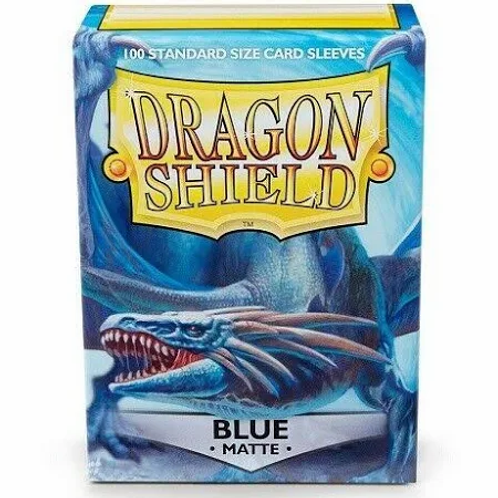 Dragon Shield Matte Blue 100ct