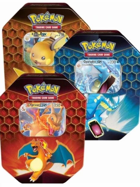 Pokemon Hidden Fates Tins (SET of 3)