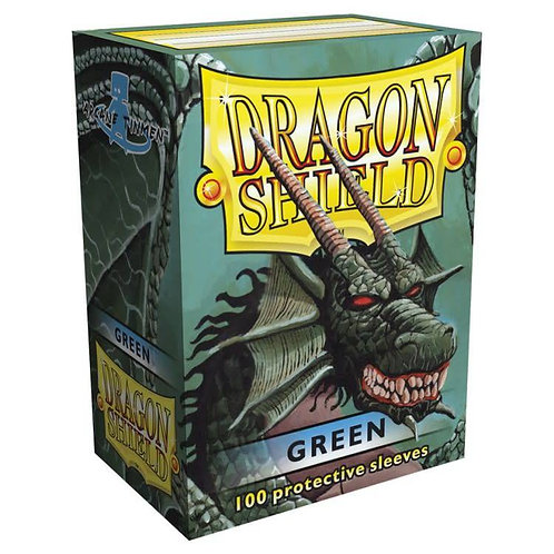 Dragon Shield Classic Green 100ct
