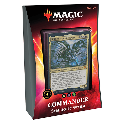 MTG Ikora Commander deck: Symbiotic Swarm
