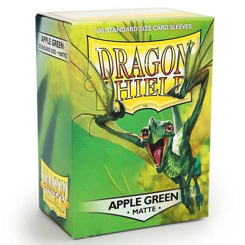 Dragon Shield Matte Apple Green 100ct