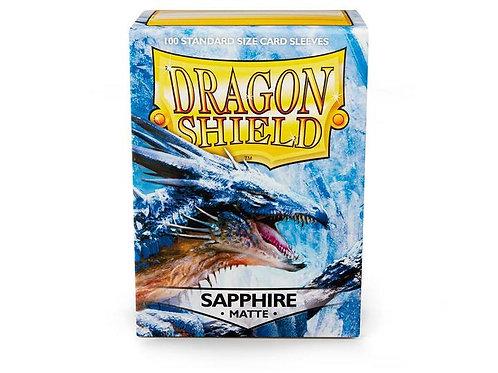 Dragon Shield Matte Sapphire 100ct