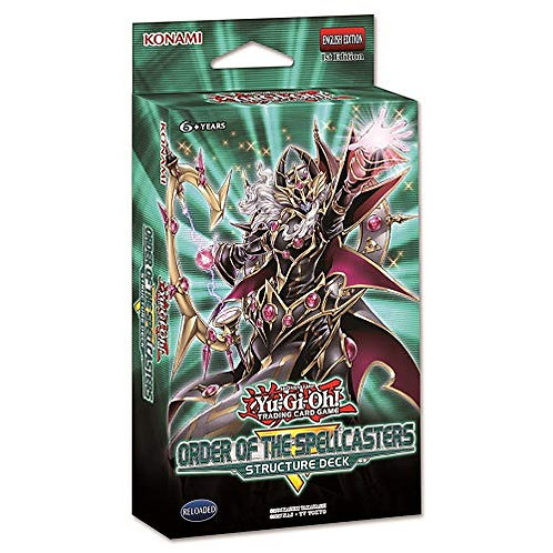 Yu-Gi-Oh! Order of the Spellcasters Structure Deck