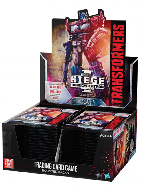 Transformers TCG War for Cybertron Siege I Booster Box