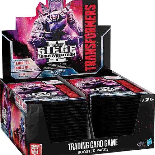 Transformers TCG War for Cybertron Siege II Booster Box