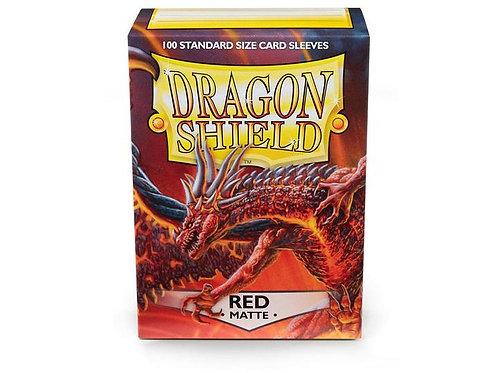 Dragon Shield Matte Red 100ct
