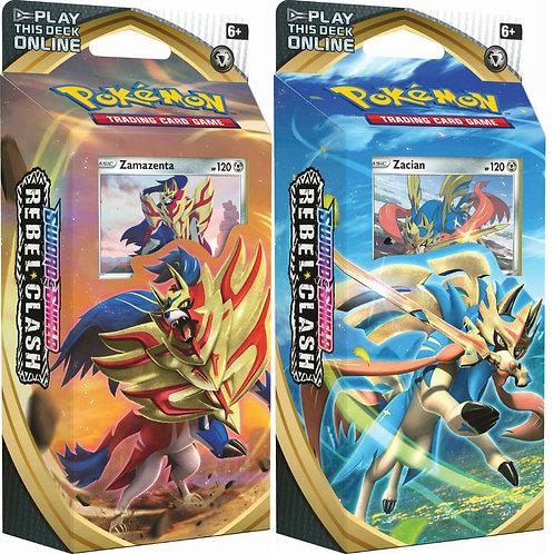 Pokemon Rebel Clash Theme Decks