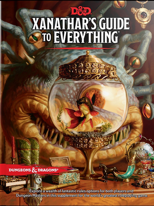 D&D Xanathar's Guide to Everything 5th Edition HC book