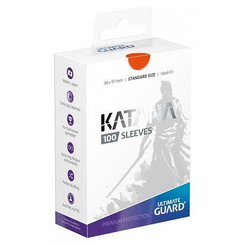 Ultimate Guard - Katana Sleeves - 100ct Orange