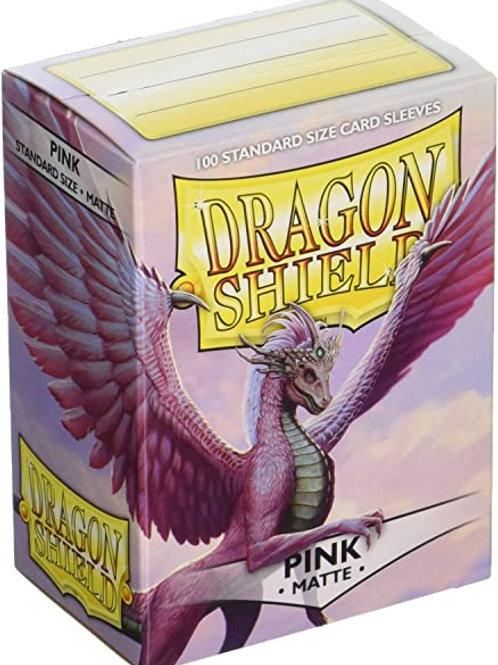 Dragon Shield Matte Pink 100ct