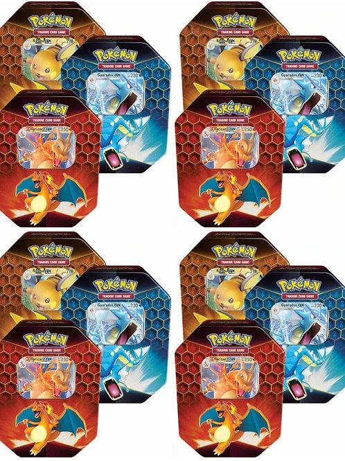 Case (12) Pokemon Hidden Fates Tins