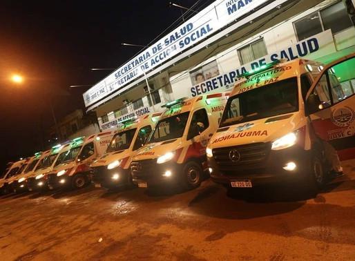 Nuevas ambulancias para José C. Paz