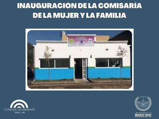 Inauguración Comisaría de la Mujer en José C. Paz