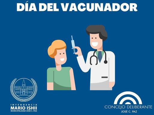 Día del vacunador y la vacunadora