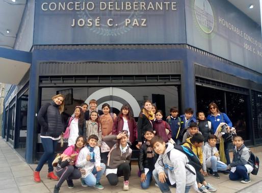 Visita de la EP Nro. 4 de José C. Paz