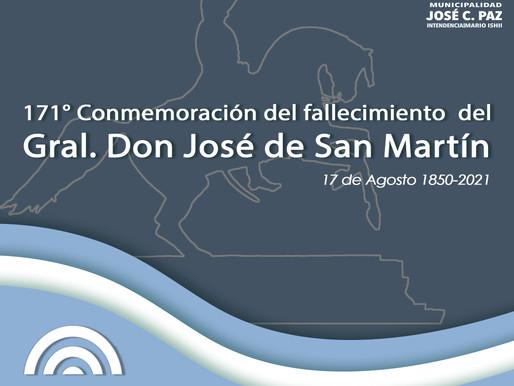 171° aniversario del fallecimiento del Gral. José de San Martin