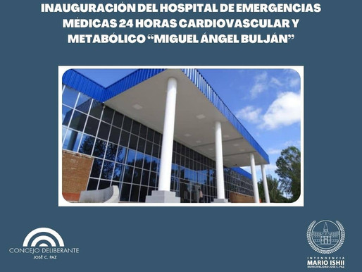 Inauguración Hospital Cardiovascular ¨Miguel Ángel Buljan¨