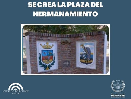 Plaza del  Hermanamiento