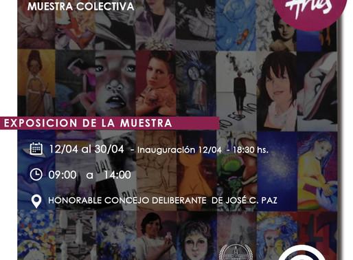 Muestra Colectiva -La Mujer en el Arte