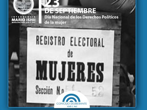 Día Nacional de los Derechos Políticos de la Mujer