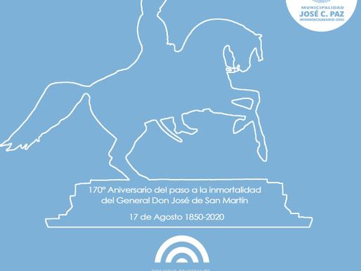 Conmemoración del fallecimiento del Gral San Martín