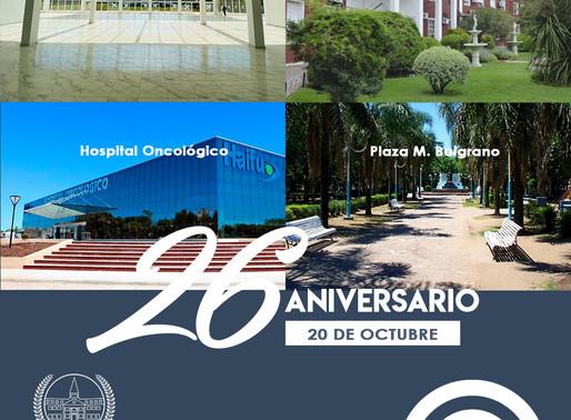 Aniversario 26° de nuestra Ciudad