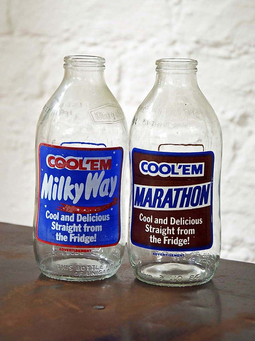 Finest In The Field Glass Shake Bottles