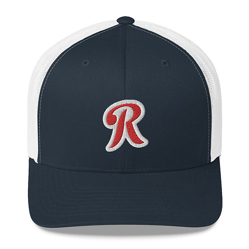 "Official Finest In The Field Embroidered ""R"" Trucker Cap"