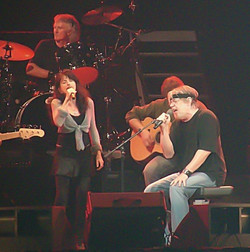 Bob with Laura duet