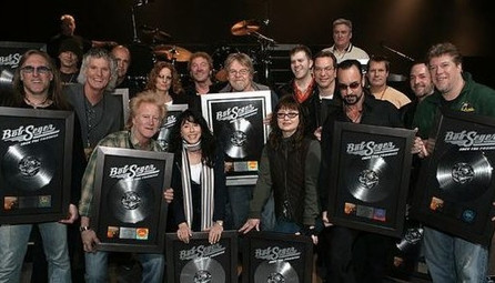 Platinum record celebration