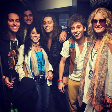 with Greta Van Fleet