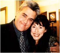 Jay Leno & Laura at Hard Rock