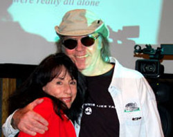 with Neil Young
