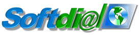 Softdial Logo