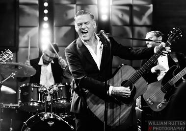 with Bryan Adams on RTL Late Night