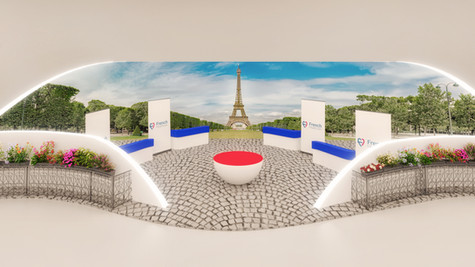 WISH Project French Booth